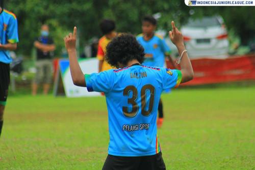 Marcellus Dalton Bakar Adrenalin Laskar Pelangi Soccer