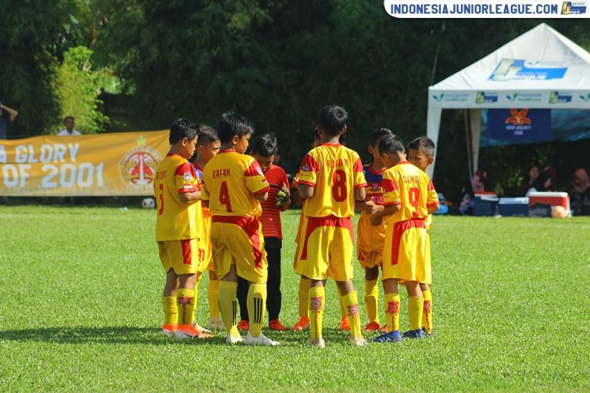 Sapu Bersih, Salfas Soccer Pantang Jemawa