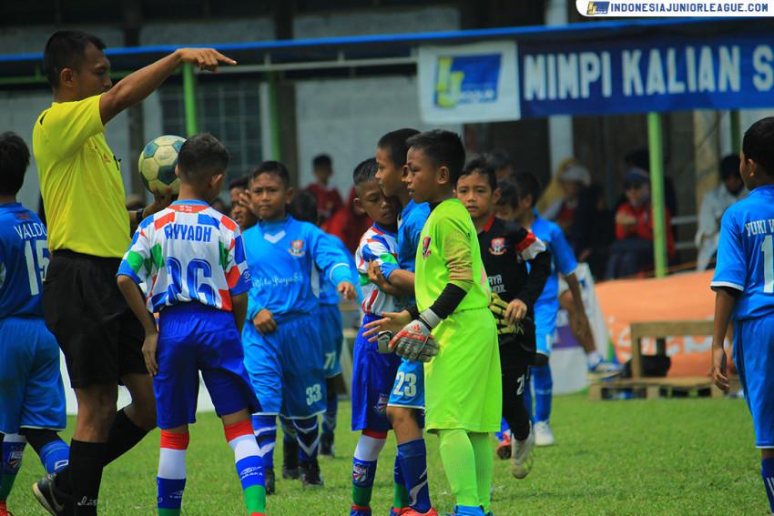 Dentuman Aksi Heroik, Pelita Jaya dan FIFA Farmel Lolos ke Partai Final IJL U-9