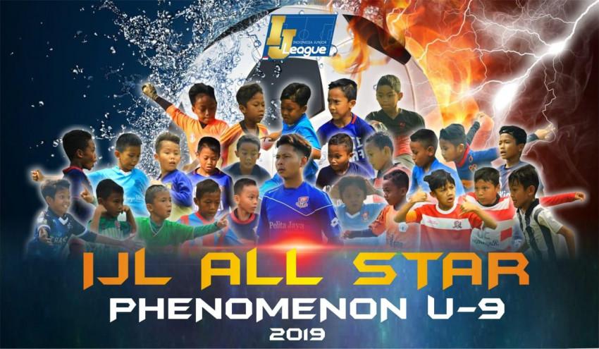 Susunan Pemain IJL All Stars U-9 Grup Phenomenon: Kabinet Karpet Merah