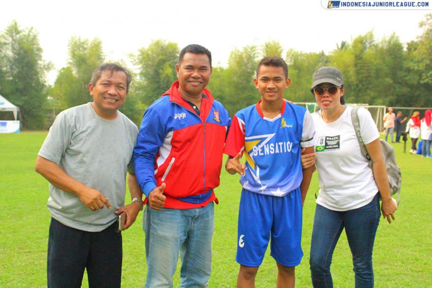 Adam Restu; Siap Bawa Nama Baik Salfas Soccer