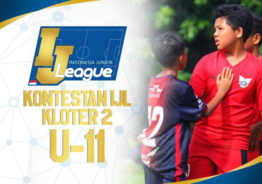 Kloter Kedua Menyusul, 10 Tim Kantongi Tiket IJL U-11 2021/2022
