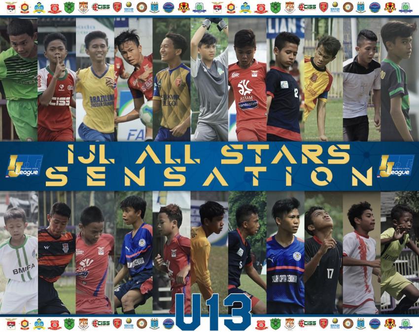 IJL All Stars U-13 Grup Sensation; Wajah Bhinneka Tunggal Ika