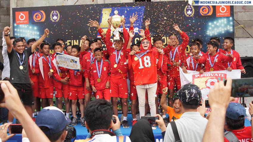 M'Private Soccer School Melukis Sejarah