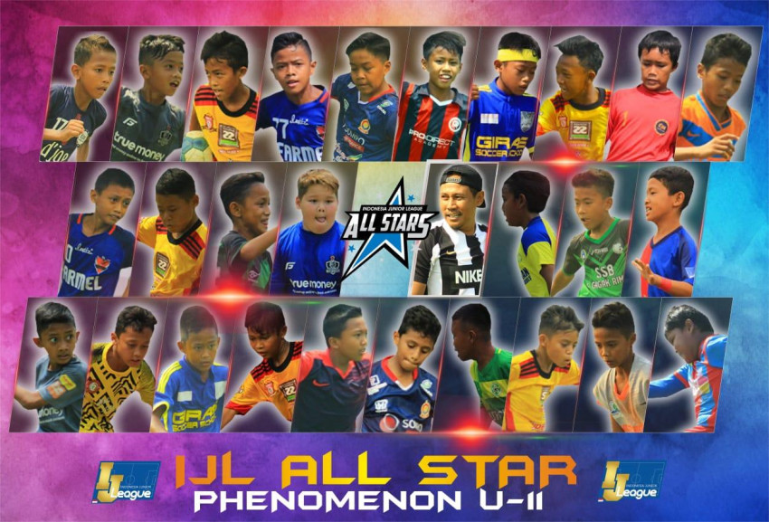 Susunan Pemain IJL All Stars U-11 Grup Phenomenon: Barikade Mental Baja