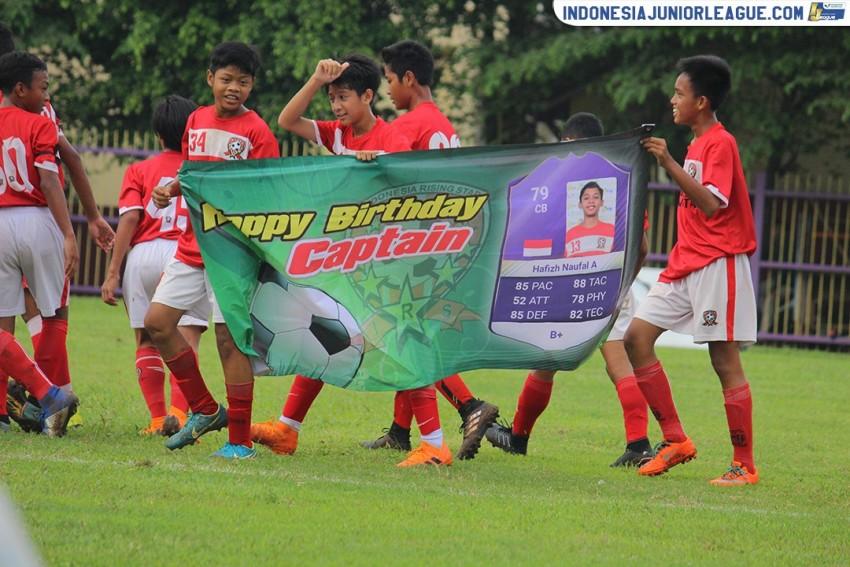 Selebrasi Ciamik Indonesia Rising Star