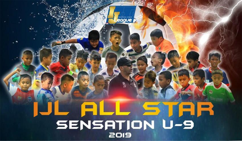 Susunan Pemain IJL All Stars Grup Sensation U-9: Kental Aroma Gladiator