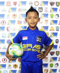 MUHAMMAD RIDWAN A   Indonesia Junior League