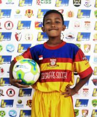 AKMAL RUSDIANSYAH   Indonesia Junior League