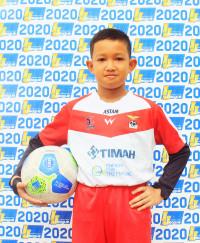 MUHAMMAD DEVLIN WIBOWO   Indonesia Junior League
