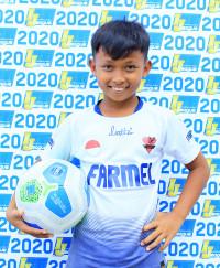 RIZKI EKA SAPUTRA | Indonesia Junior League