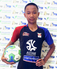 REZA WAHYU HIDAYAT   Indonesia Junior League
