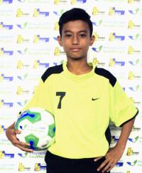SAUBYHAKY PUTRA PRATAMA   Indonesia Junior League