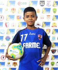 MUHAMMAD ZONA DZUHRI   Indonesia Junior League